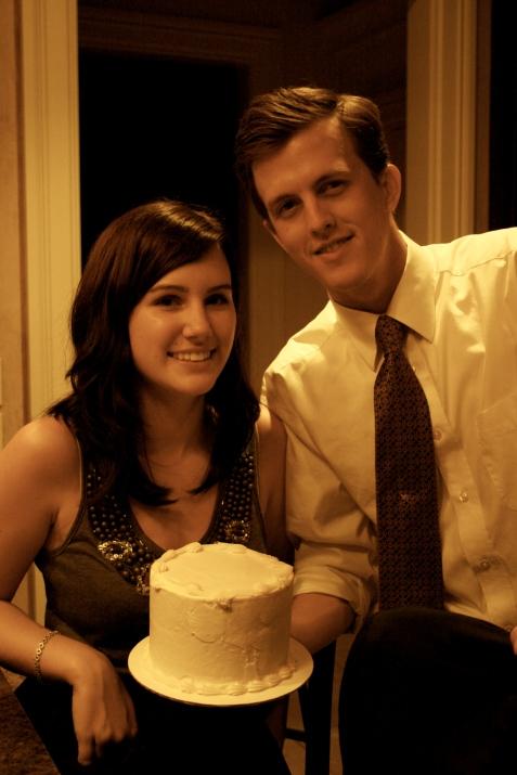first wedding anniversary, Jerad and Kayla Ruth